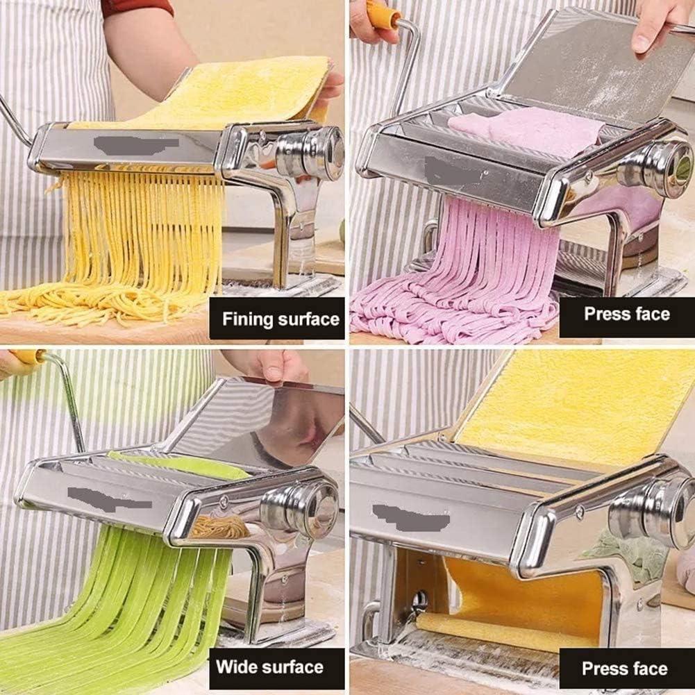 Compra TQMB-A Pasta casera de la máquina, Hecha en casa de Las pastas Máquina pequeños Fideos manuales Son Durable, Usado para Hacer Pasta Fresca Adecuado para la Familia en Amazon.es