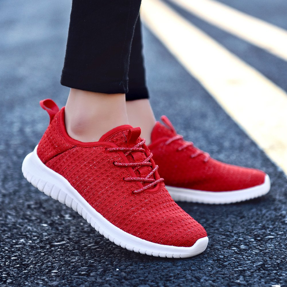 TIOSEBON Damenschuhe Trainers Stylish Lightweight Breathable Breathable Lightweight Sports Run ... c010d9