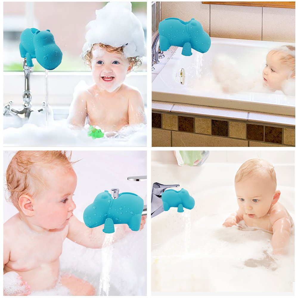 Bathtub Faucet Cover for Baby - Baby Bath Tub - Lion Faucet Cover ...