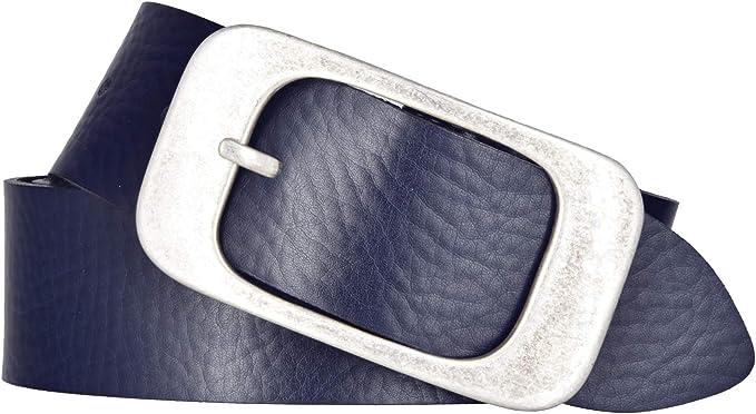 Bernd Götz Gürtel Damengürtel 40 mm marine Nappaleder Ledergürtel Leather Belt