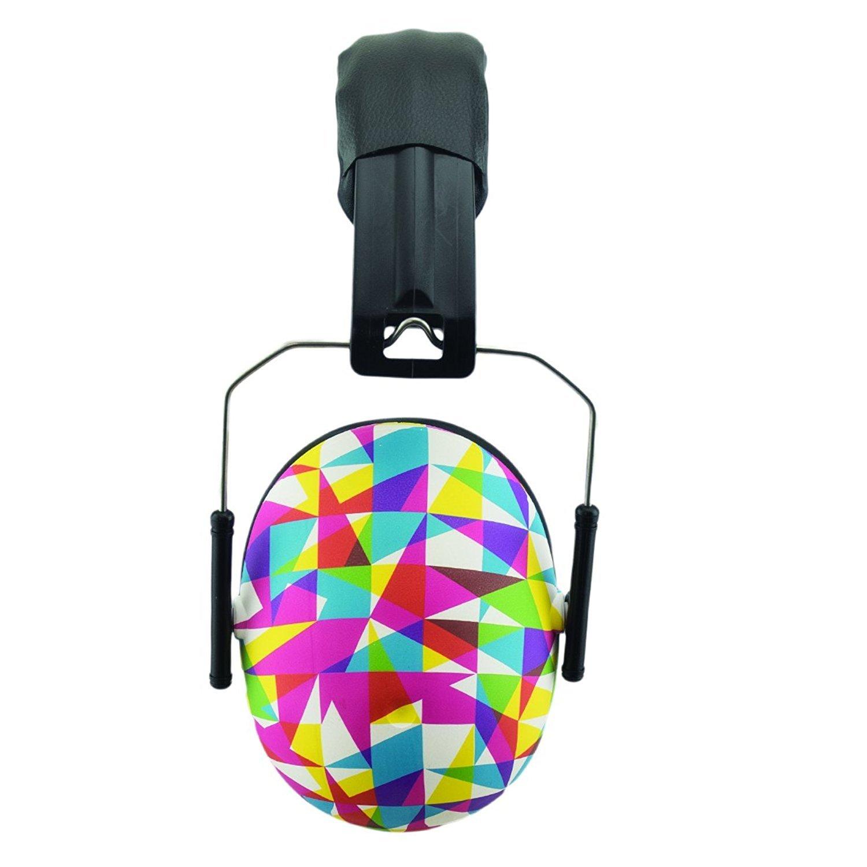 BANZ KIDZ EAR DEFENDERS, cuffie paraorecchie di protezione acustica per bambini dai 2 anni in sù. ( Arancia ) EM026
