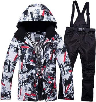 SIKHUAXUE Vêtements Hiver Hommes Veste De Ski Imperméable