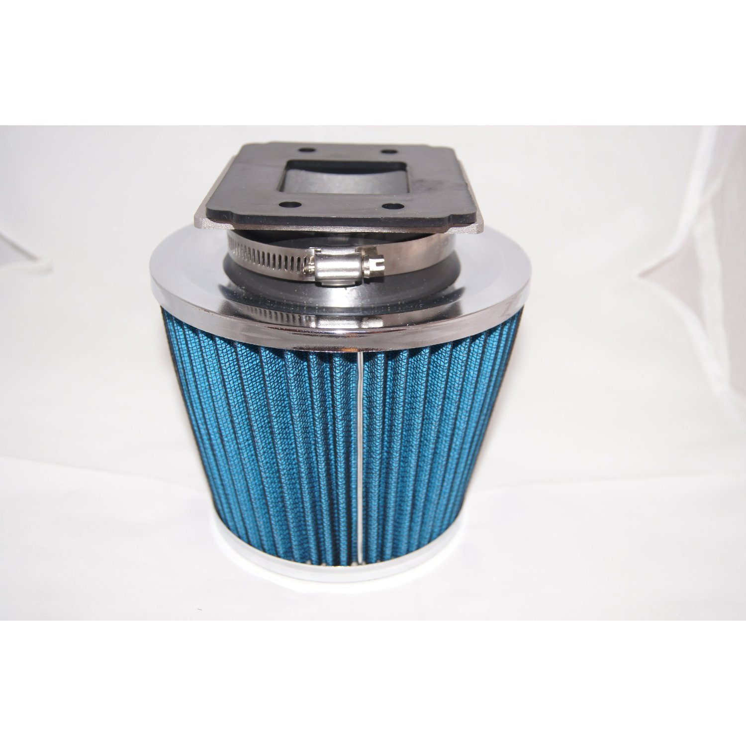 "90 91 92 93 94 95 96 97 98 Protege MX3 Miata Air Intake Filter MAF Adapter + 3"" Air Filter (Include Blue Air Filter) by High performance parts (Image #1)"