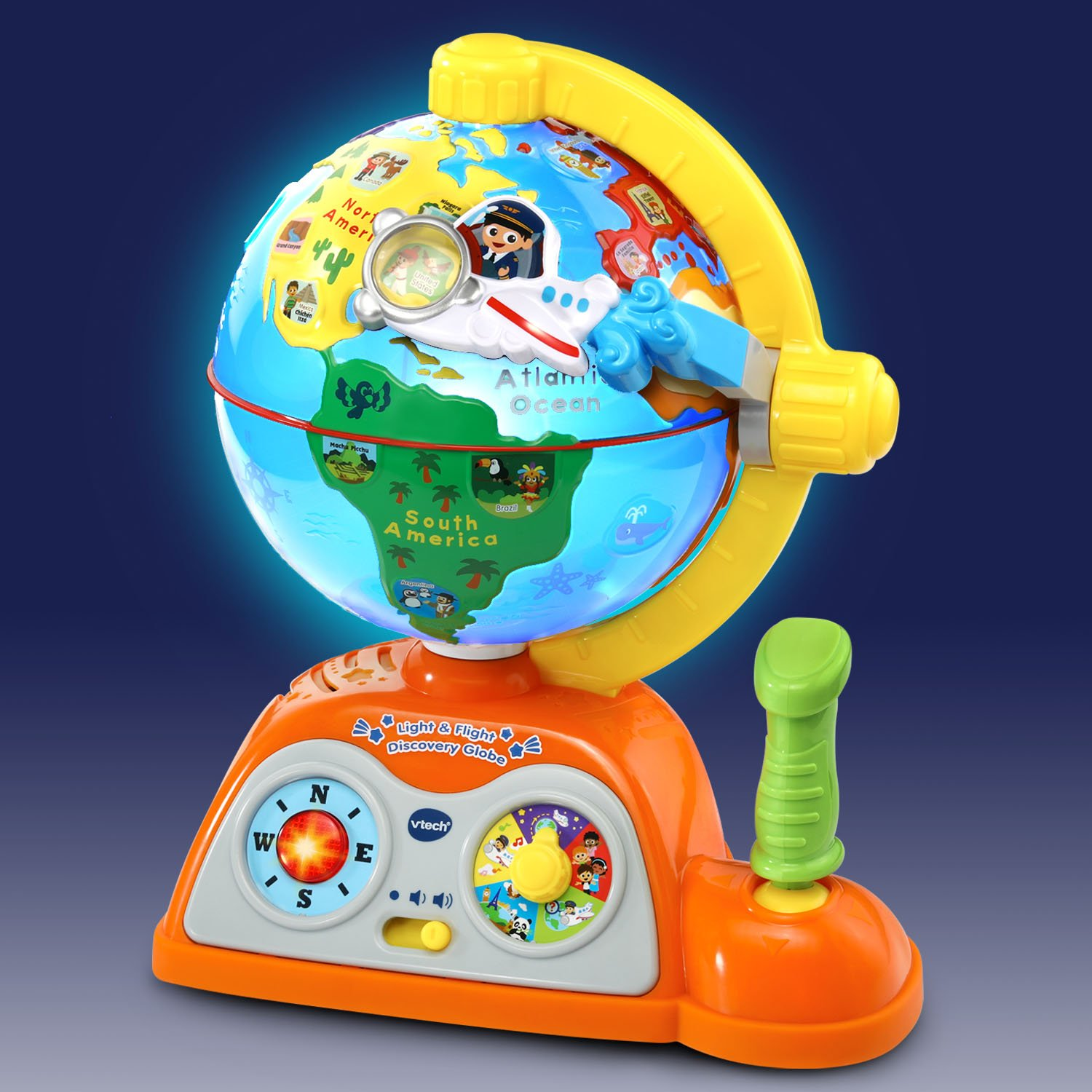 VTech Light and Flight Discovery Globe Amazon Exclusive by VTech (Image #2)
