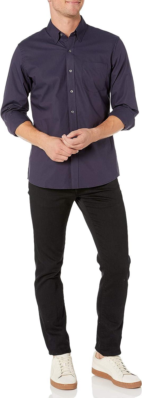 Goodthreads Standard-fit Long-Sleeve Stretch Poplin All Hours Hombre