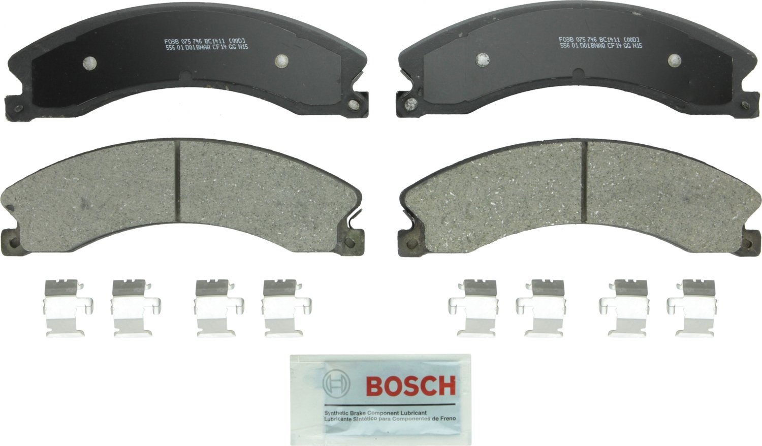 Bosch BC1411 QuietCast Brake Pad Set