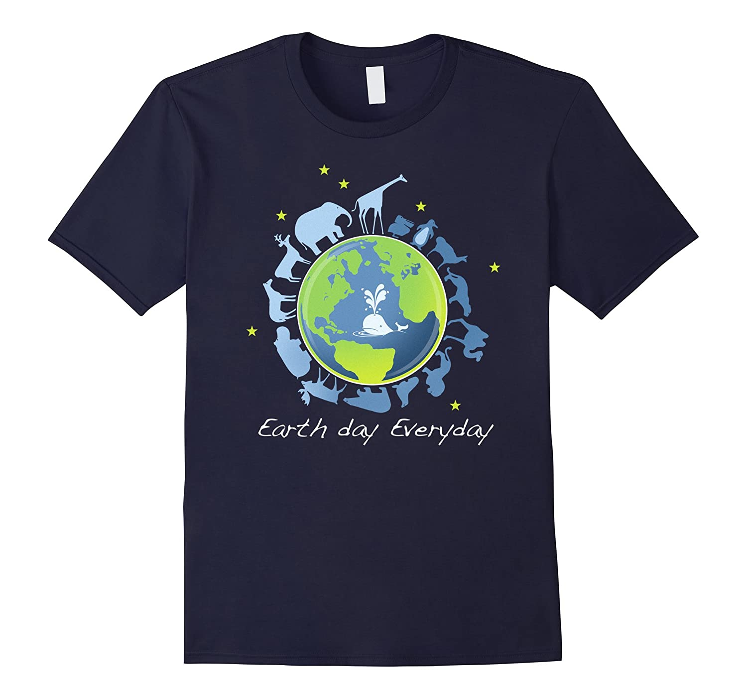 Animals on Earth March Science Earth Day 2017 Shirt-CD