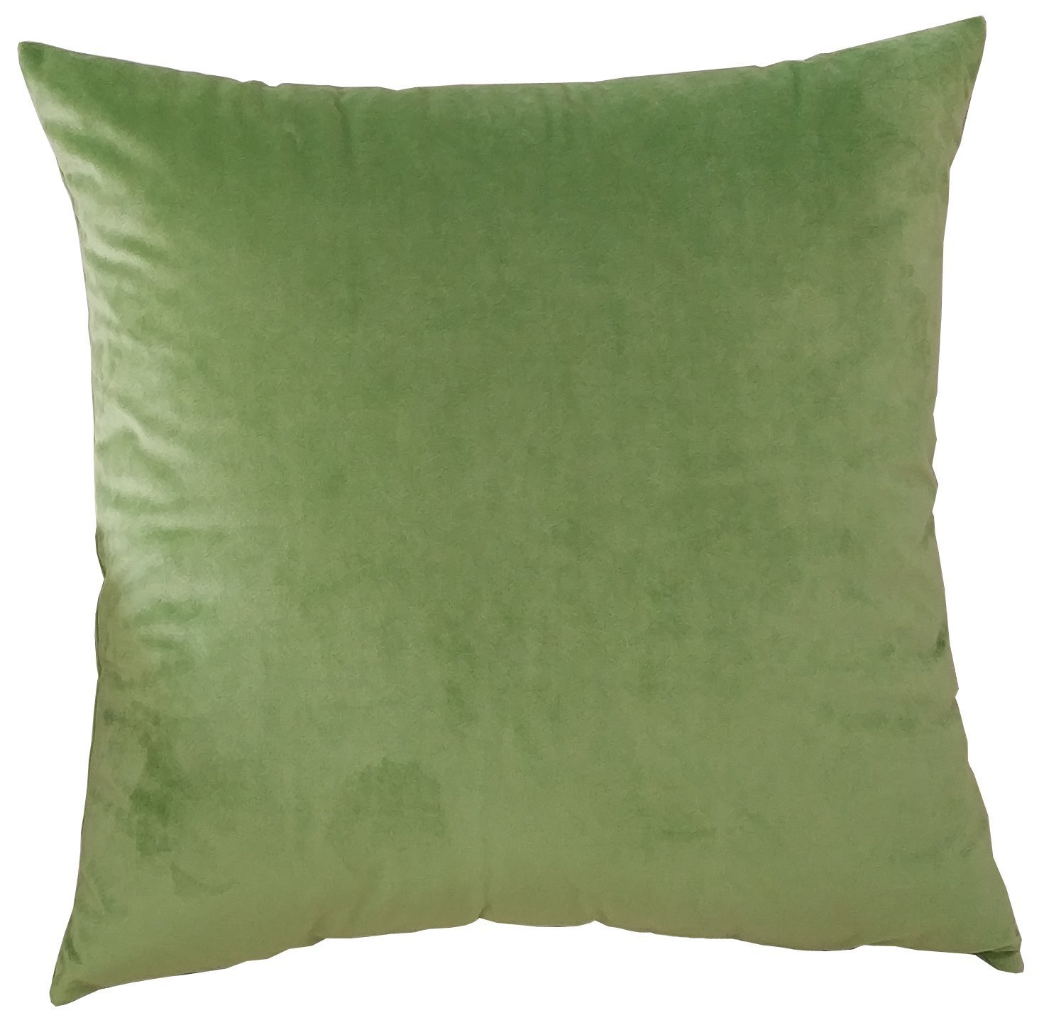 M MOCHOHOME Decorative Microfiber Solid Square Throw Pillow Cover Case Pillowcase Cushion Sham - 16'' x 16'', Green