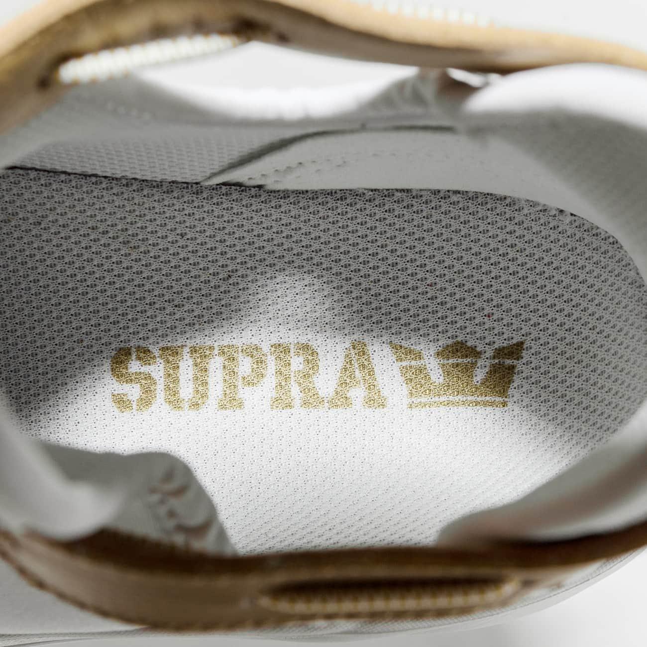 Supra Women's M Anevay Shoes B074KJNWB9 8.5 M Women's US|White/Gold-white 3e30c4