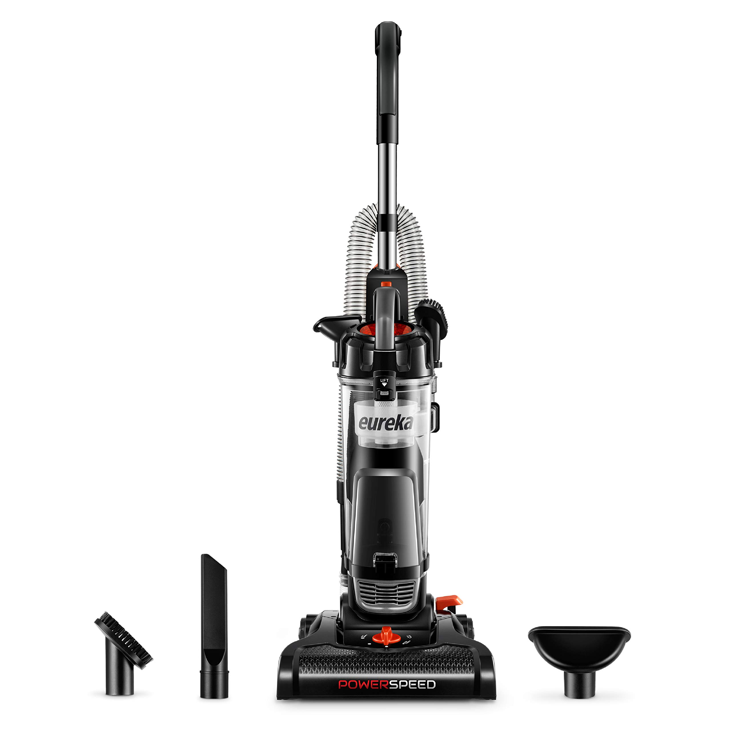 Eureka NEU180B Lightweight Powerful Upright, Pet Hair Vacuum Cleaner for Home, Graphite by EUREKA