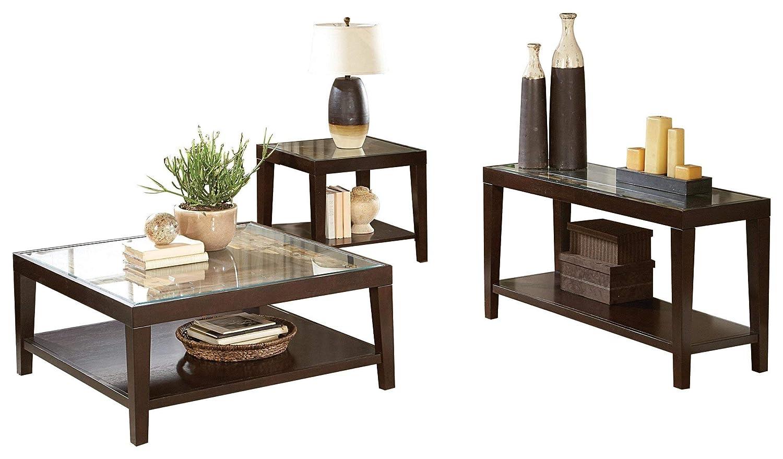 Amazon.com: Valencia 3PC Occasional Set Cocktail Table, 1 ...