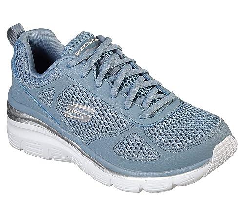 Skechers Fashion fit Perfect Mate scarpe sportive donna blu
