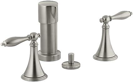 Kohler K 316 4m Bn Finial Traditional Bidet Faucet With Lever