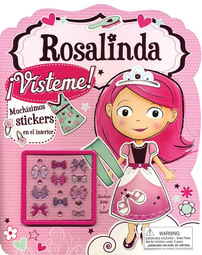 Rosalinda Visteme! (Spanish Edition): Gillian Rogerson, Bruno Mertz: 9781472311955: Amazon.com: Books