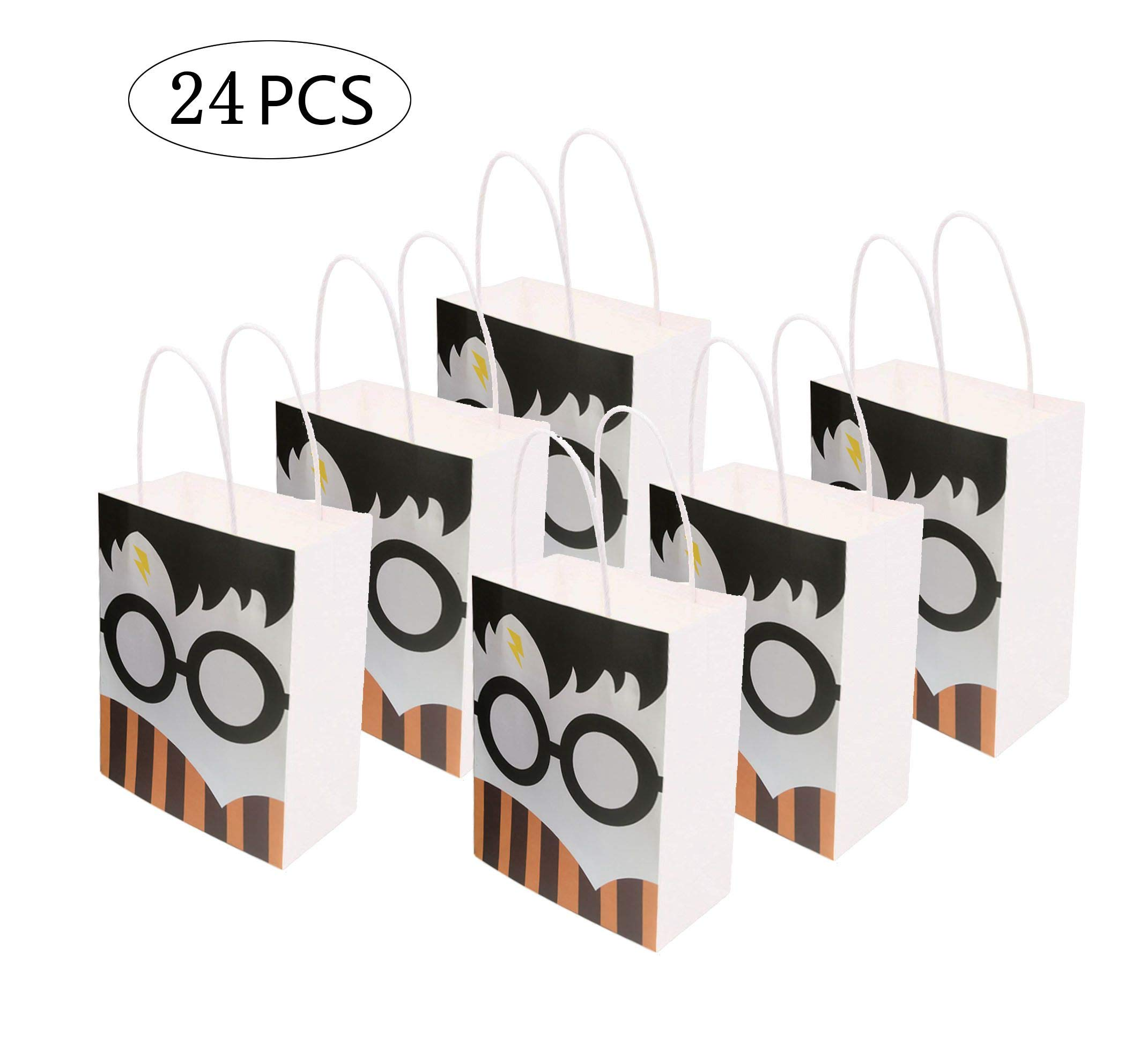 24PC Magical Wizard School Gift Bag for Harry Potter Birthday Party Decorations Supplies