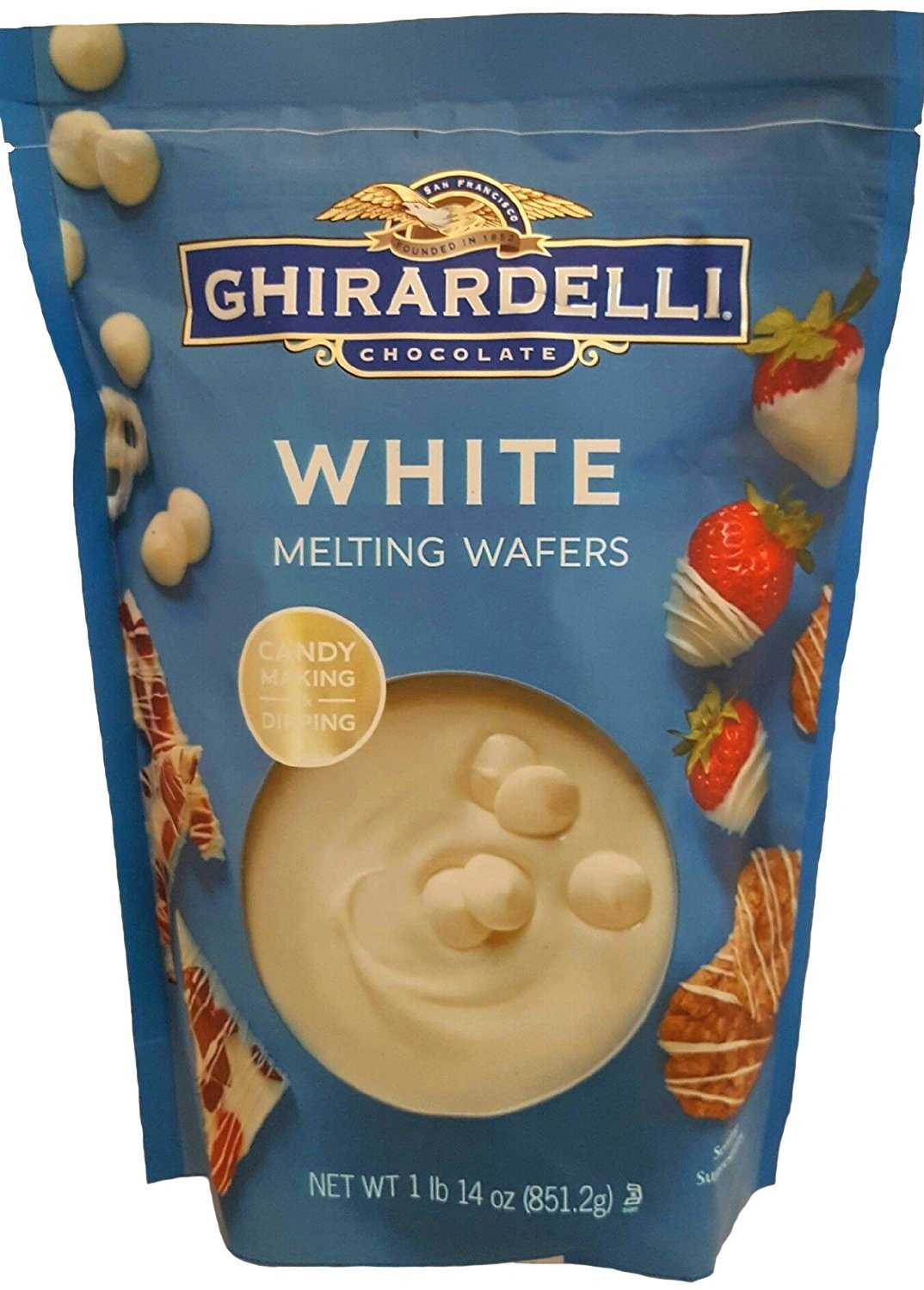 Amazon.com : Ghirardelli Chocolate Melting Wafers (for Candy ...