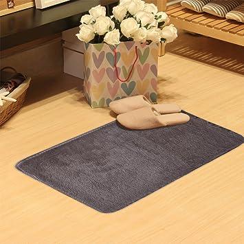 Iuhan Fashion Flauschig Teppiche Rutschsicheren Shaggy Bereich Teppich  Esszimmer Home Schlafzimmer Teppich Fußmatte 50 X 80