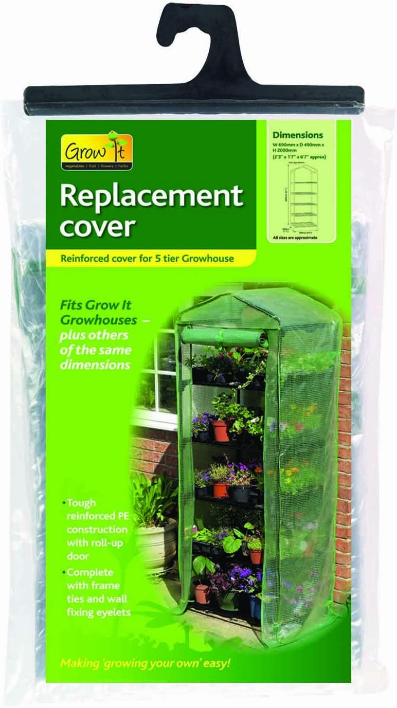Gardman R700SC Replacement Cover For 5-Tier Greenhouse