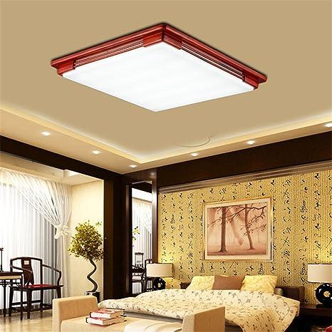 BRIGHTLLT Chino moderno acrílico LED lámpara de techo de ...