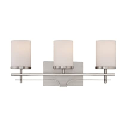 Savoy House 8-338-3-SN Colton 3-Light Vanity Bar in Satin Nickel ...