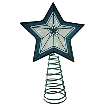 Image Unavailable. Image not available for. Color: FOCO Dallas Cowboys Star  Tree Topper - Amazon.com: FOCO Dallas Cowboys Star Tree Topper: Home & Kitchen