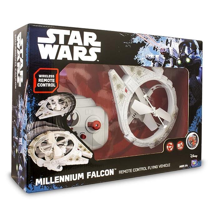 Star Wars Drone Volador Millenium Falcon, Unico (Giochi Preziosi ...