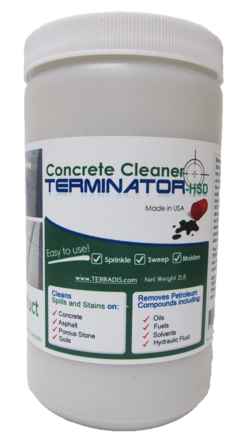 Concrete and Driveway Cleaner by TERMINATOR-HSD (2 LB) Terradis SYNCHKG063227