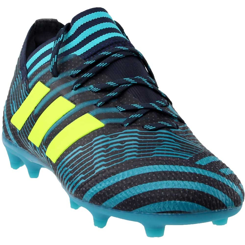 adidas Nemeziz 17.1 Firm Ground Soccer Cleats - Boys B079B8MP7D 5.5 Big Kid Us Legend Ink / Electricity / Energy Blue