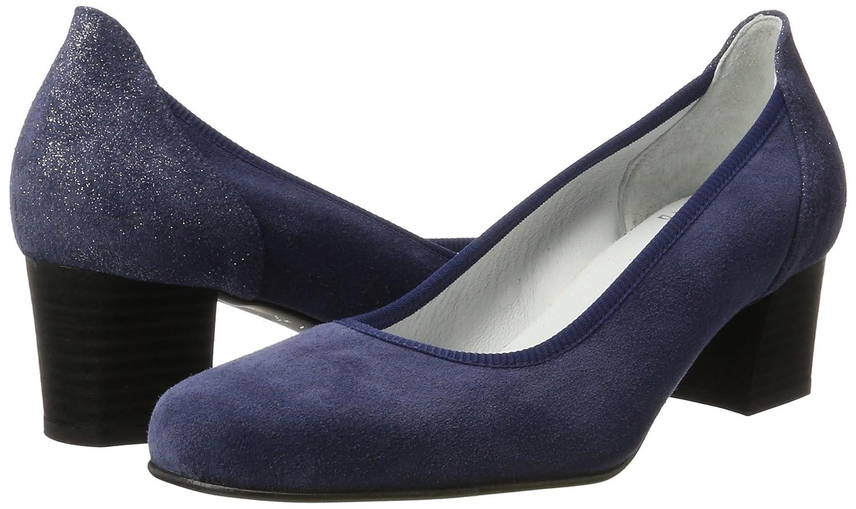 Diavolezza Damen Contessa Pumps Blau Blau Pumps (Blau) 7f7c11