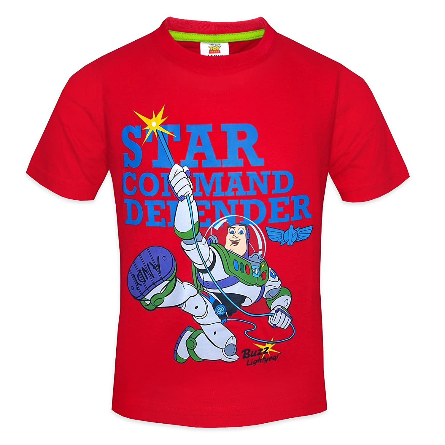 Disney Toy Story Woody Buzz Lightyear Official Gift Boys Kids T-Shirt ...