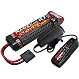 Traxxas Battery/Charger Completer Flat Pack 2-amp Fast Charger 8.4V NiMH Battery
