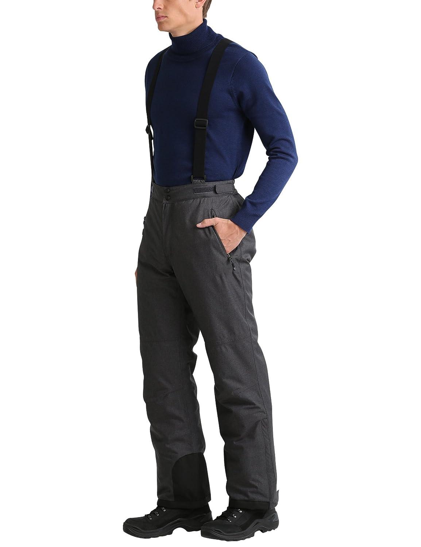 Ultrasport Pantalon de Ski pour Homme Technologie Ultraflow 10000 Pantalon de Snowboard imperm/éable Noir Pantalon de Sports d/'Hiver pour Homme Chaud