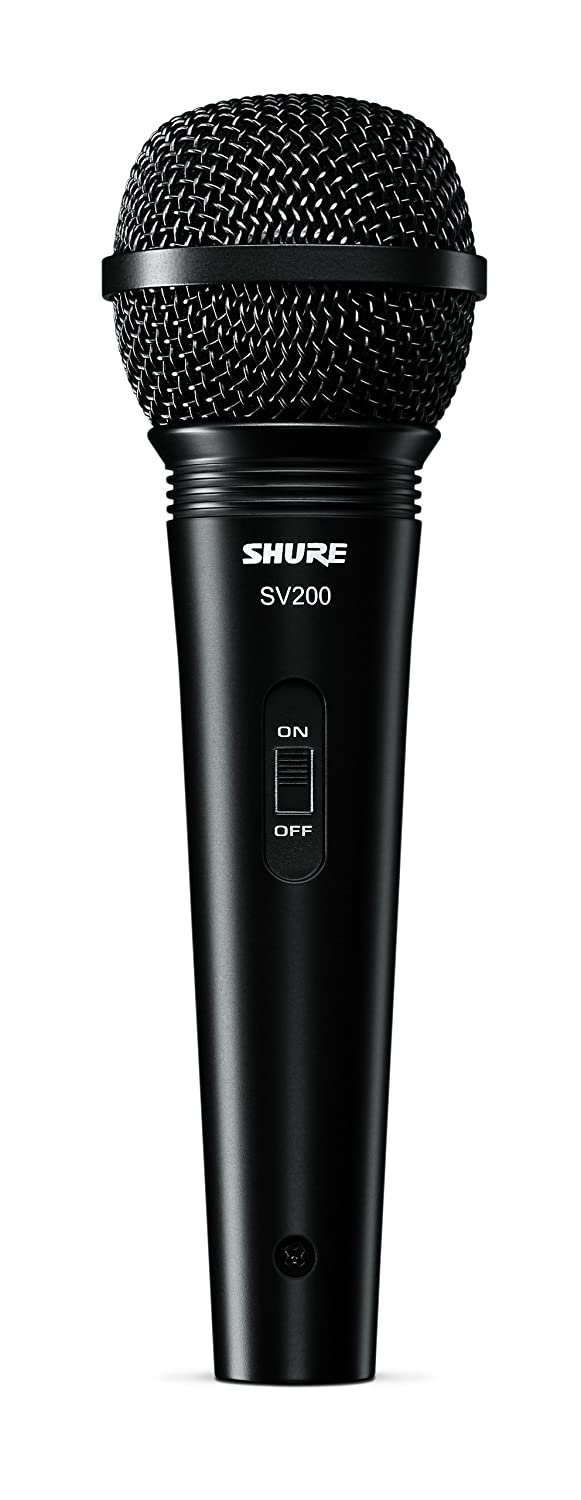Shure SV200-W Multi-Purpose Microphone with XLR-XLR Cable Shure Incorporated