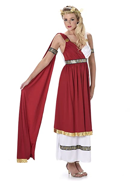 Costumi di Carnevale - Elegante costume da antica romana per donna ... 686bb31f86e