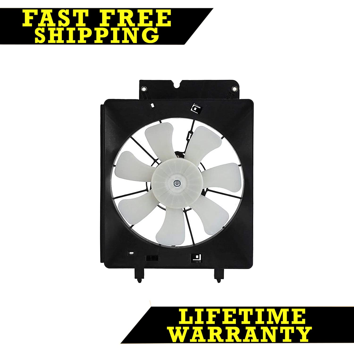 Tyc 610530 Honda Replacement Condenser Cooling Fan Wiring Diagram 97 Cr V Assembly Automotive