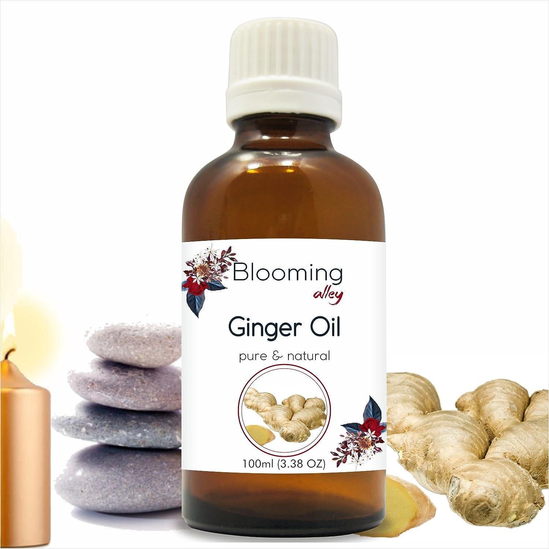 2019年秋冬新作 Ginger Oil (Zingiberaceae ml Officinale) Essential 100ML Oil 100 ml Oil or 3.38 Fl Oz by Blooming Alley 100ML B07F1FS7T7, ウレシノマチ:5d07a84e --- a0267596.xsph.ru