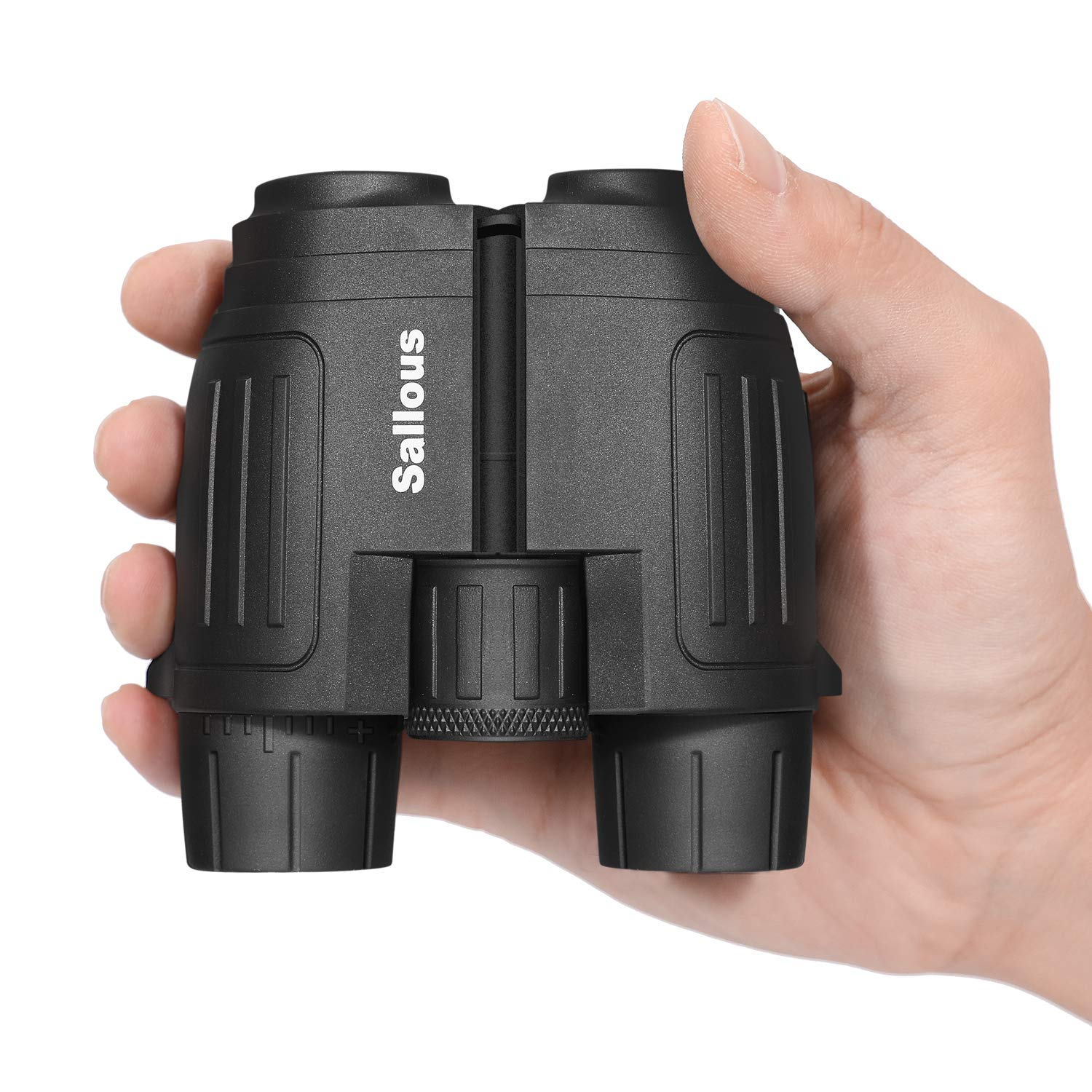 10X25 Small Compact Lightweight Binoculars for Adults Kids Bird Watching Traveling Hiking Wildlife Watching. Clear View, Easy to Focus. Pocket Folding Binocularsfor Opera Concert Theater Opera. by Sallous