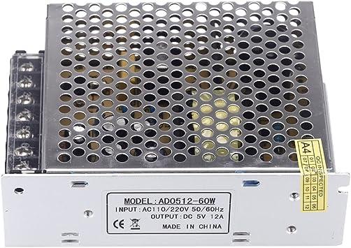 Transformateur de Tension Interrupteur Professionnel dalimentation 220 V /à DC pour Bande LED. LA