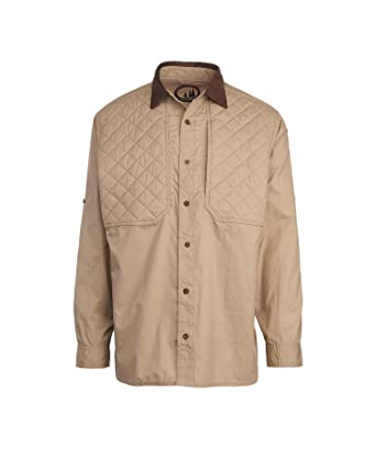 ebe0ff2f0802d Woolrich Men's Solid Upland Hunting Shirt at Amazon Men's Clothing store: