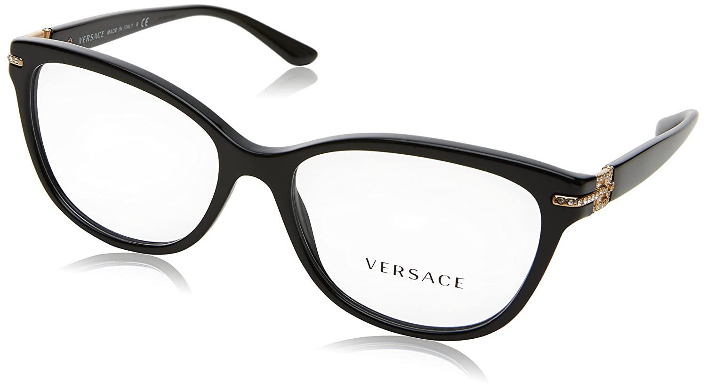 f22dc4e7f1cd Amazon.com: Versace Women's VE3205B Eyeglasses 54mm: Shoes