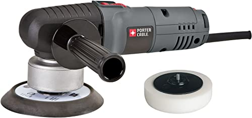 PORTER-CABLE Random Orbit Sander with Polishing Pad, 6-Inch 7346SP