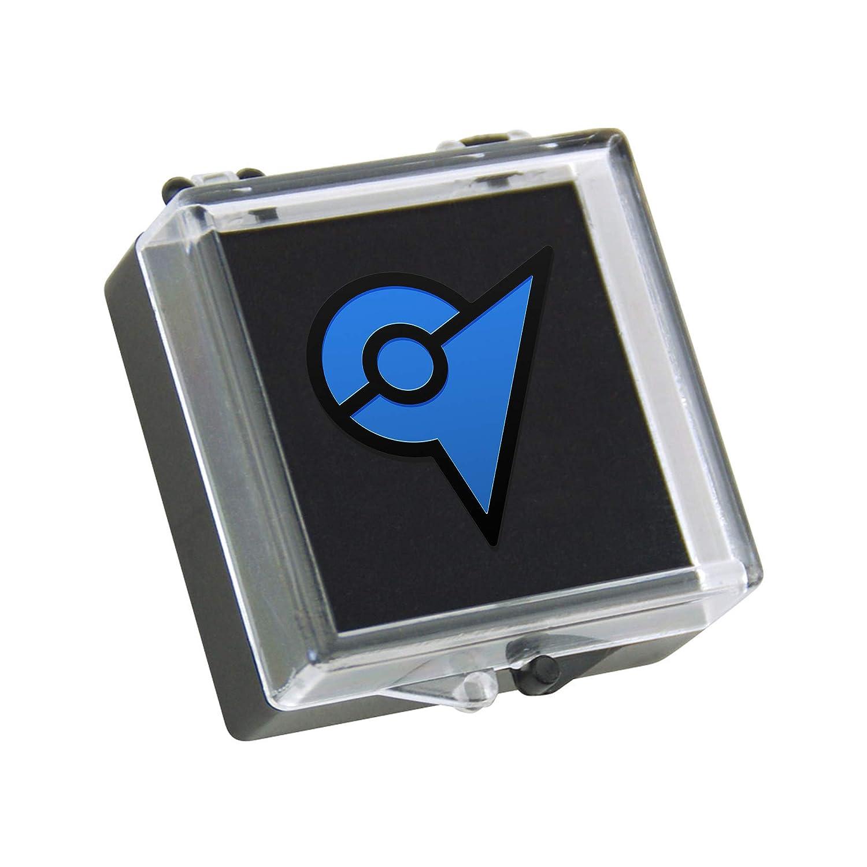 Pokemon Go Gym Badge Hard Enamel Pin Blue Red Yellow Clasp Back Display Case