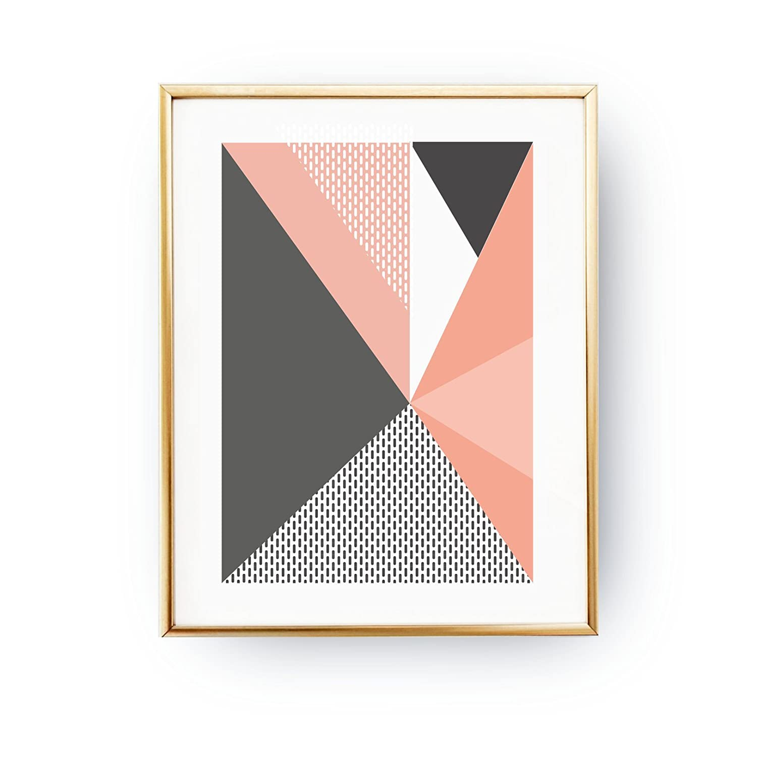 Amazon Com Textured Wall Art Geometric Shapes Abstract