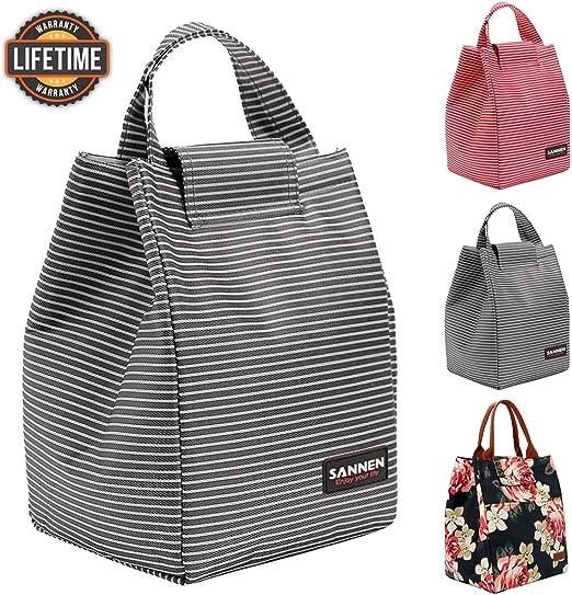 Amazon.com: Bolsas de almuerzo con aislamiento para mujeres ...