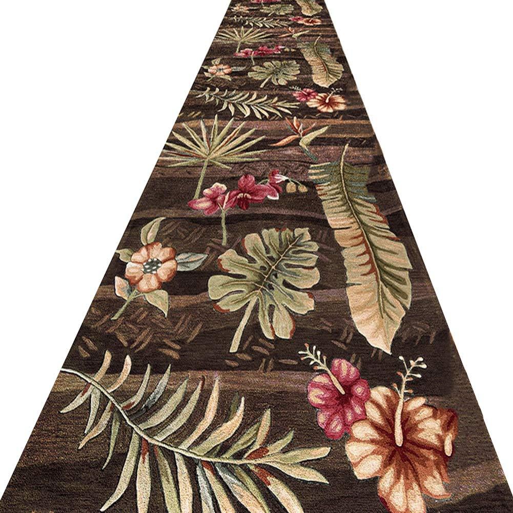 KKCF 廊下のカーペット3Dパターン滑り止め耐汚染性掃除が簡単カーペット化学繊維 、複数のサイズ (色 : A, サイズ さいず : 0.9x4m) B07RLKTK3N A 0.9x4m