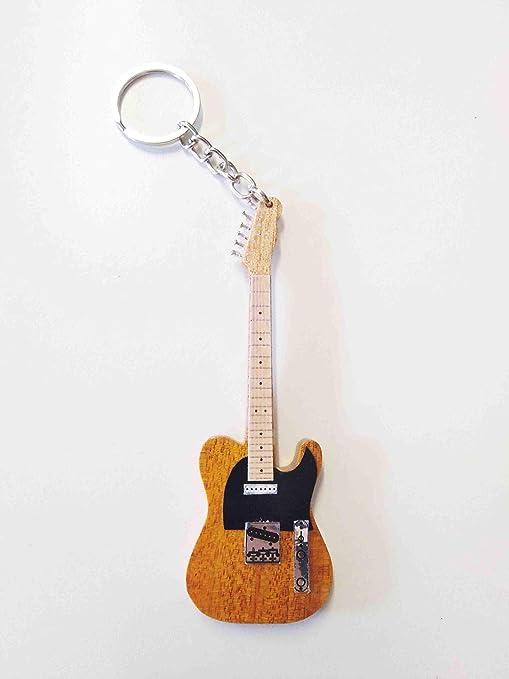 Guitarra Llaveros: Bruce Springsteen Telecaster, color amarillo ...