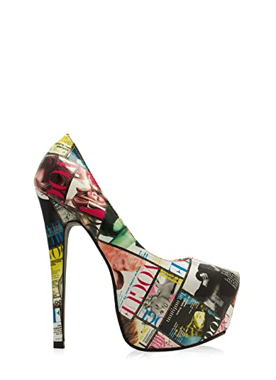 Amazon.com: Womens Cover Story Magazine Print Platforms: Shoes