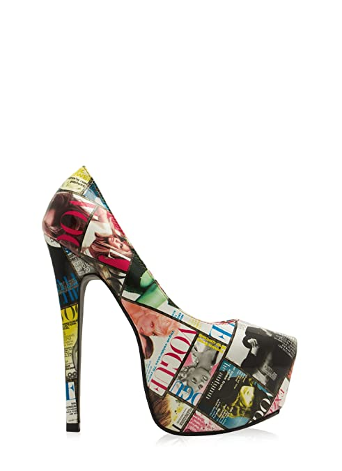 Amazon.com: Womens Cover Story Magazine Print Platforms: Shoes