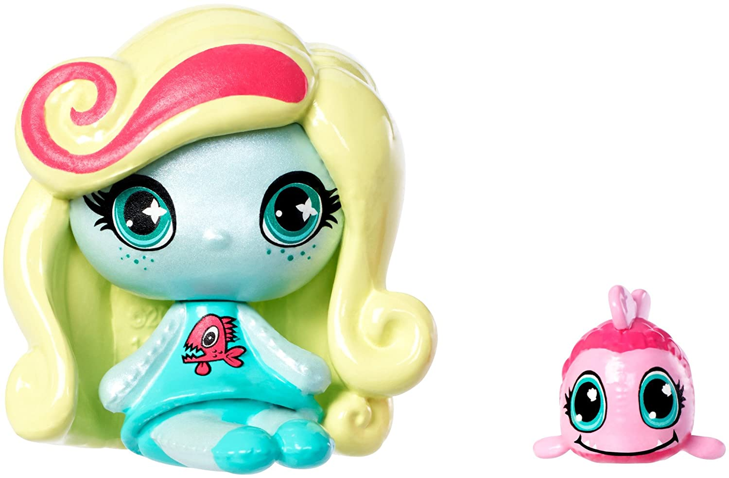 Monster High Minis Lagoona Blue Doll & Neptuna Pet by Monster High