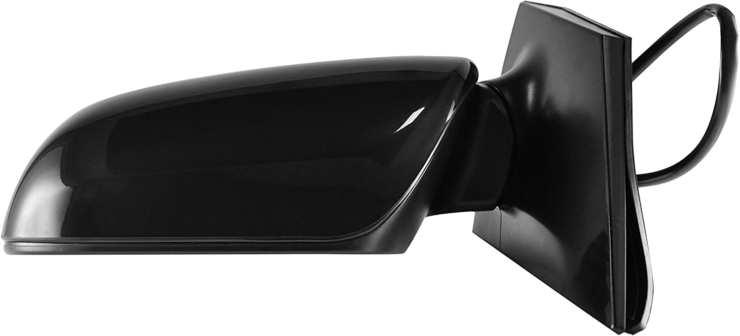 TO1320249 Left Driver Side Unpainted Power Operated Side View Mirror for 2009-2013 Toyota Corolla